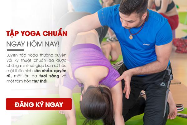 Lớp tập yoga giảm cân