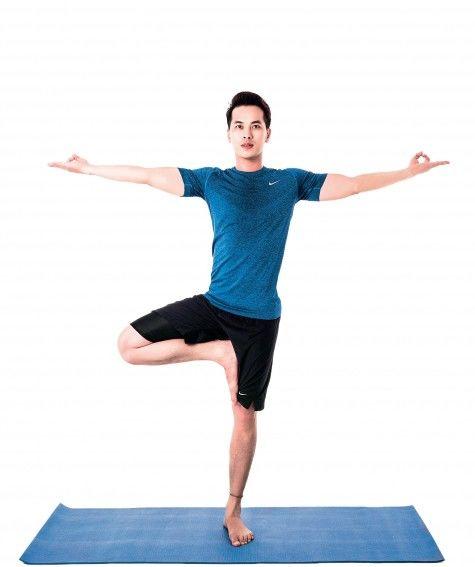 Kết quả hình ảnh cho bài tập yoga nam